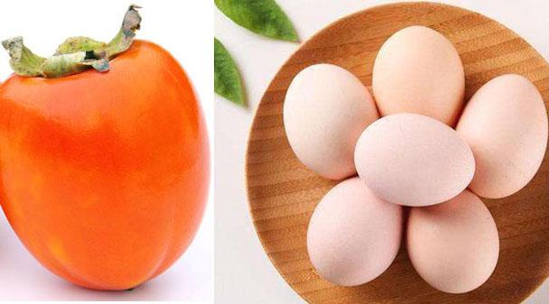 柿子不能和鸡蛋一起吃?危言耸听