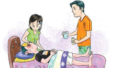 为什么发烧时要多喝开水