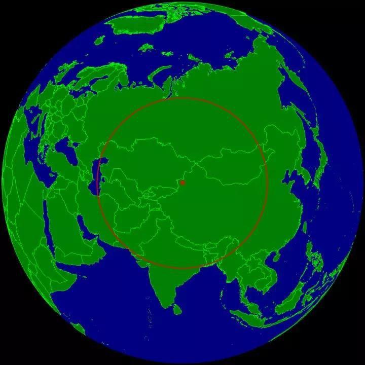距离海洋最远的陆地位于阿拉山口附近