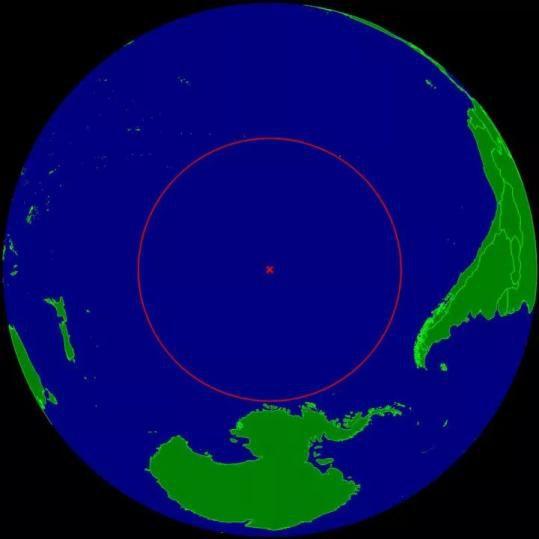"""距离海洋最远的陆地在太平洋的""""尼莫点"""""""