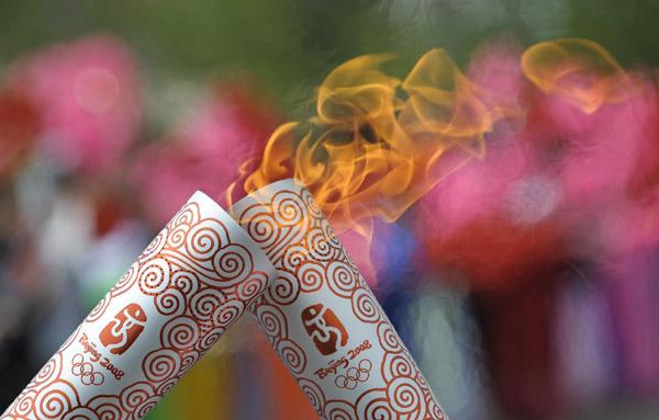 奥运火炬是如何做到不熄灭的
