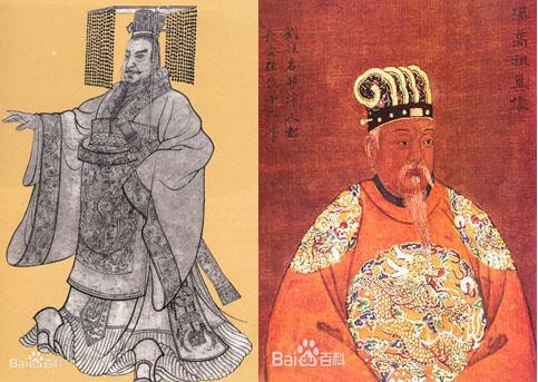 秦始皇和刘邦只差3岁
