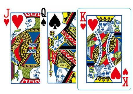 扑克牌上的J、Q、K分别代表哪些历史人物