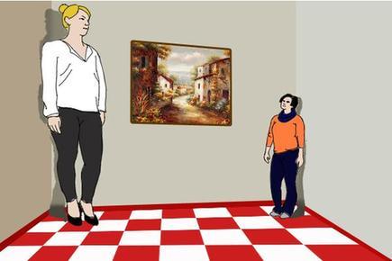 艾姆斯房间——视错觉欺骗你的眼睛