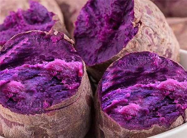 紫薯煮熟为什么会变成蓝薯