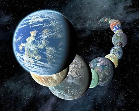 宇宙中有多少像地球一样支持生命的行星