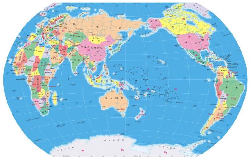 南极洲并没有地图上看到的那么大