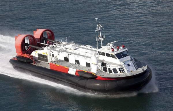 气垫船是如何浮在水面上行驶的