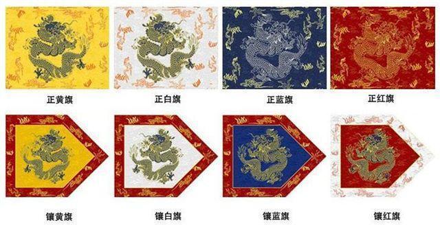 清朝八旗制度中的八旗是哪八旗?