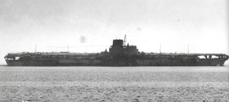 最短命的航空母舰 航行17个小时就被击沉