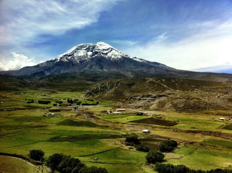 钦博拉索山——距离地心最远的山