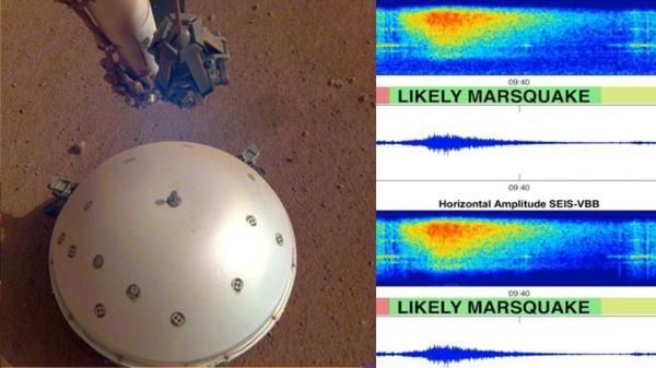 火星上也有地震发生