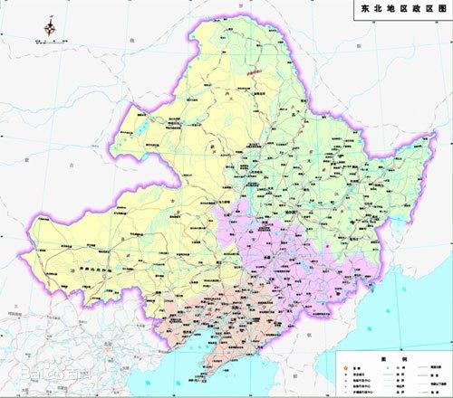 东北不只是东三省 还包括内蒙古东四盟