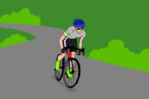 """骑自行车爬坡时 为什么走""""S""""形更省力"""