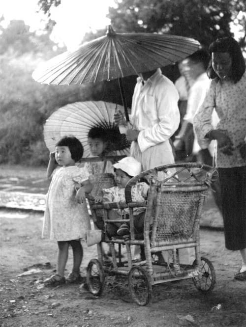 北京城老照片:1956年的街头巷尾城市生活