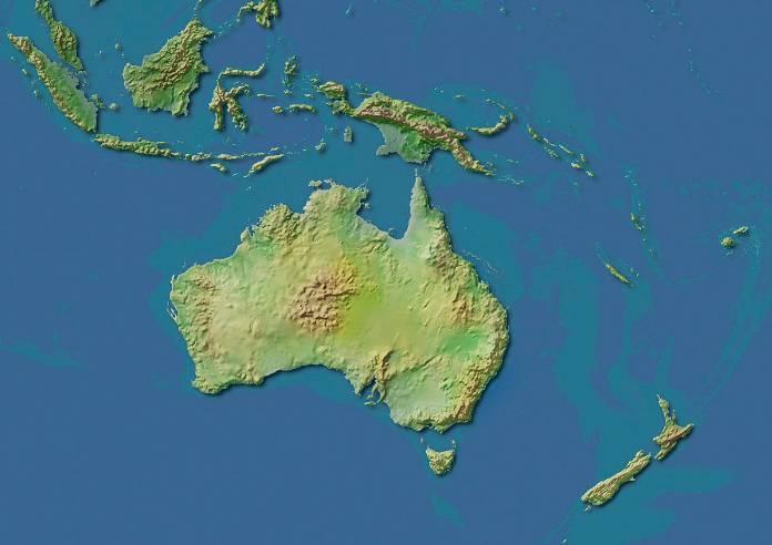 澳大利亚和新西兰实际距离很远